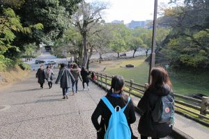 熊本城見学2